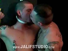Macanao Torres and Miguel Kiades, two young spanish bulls enjoying hardcore sex between machos: sneakers, bondage, spit, anal hook, tweezers... hot action and domination between two males brimming with testosterone
