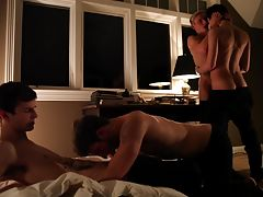 From acclaimed director Jake Jaxson, Answered Prayers is a profoundly layered seven-part morality play that goes where no other film in the adult industry has gone before -- The Banker, The Healer, The Bully, The Ascension of the Lamb, The Assumption of t