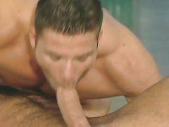 Two Toned Guys Get Horny In Gym 3