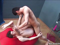 Hot gay scene featuring these guys who loves cock in heat.