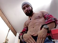 Zack is back as a lumberjack! This scene is very close to Zack`s reality and surroundings.
