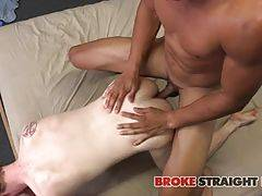 When Devon?s pants come off next, Kaden takes that long shaft in his mouth and gets it deep down his throat, making it grow and then getting into some 69ing action so that they can both get some head!