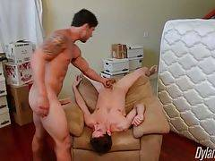 Jimmy gets horny and too much turned on by Bradley`s discount request.