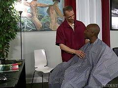 Osiris needs a small trim and his bald head so he heads to his local Barber shop where Rodney is waiting for him.
