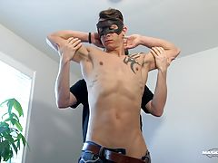 The Office Suck series gives me a chance to invite to my home office a hot jock I`ve been fantasizing about and to worship his body as I wish. This time, I selected young Marc because of his amazing lean muscular body and especially his huge 9 incher. No