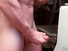 Hungry Brady Jensen Enjoys Solo Jerkoff 2
